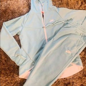 "NIKE ""baby blue"" jumpsuit"